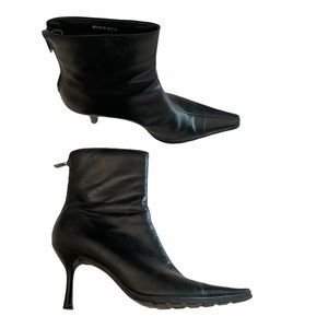 Call it Spring leather highheel black boot size 39